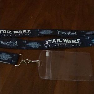 Disneyland Star Wars lanyard - used one day